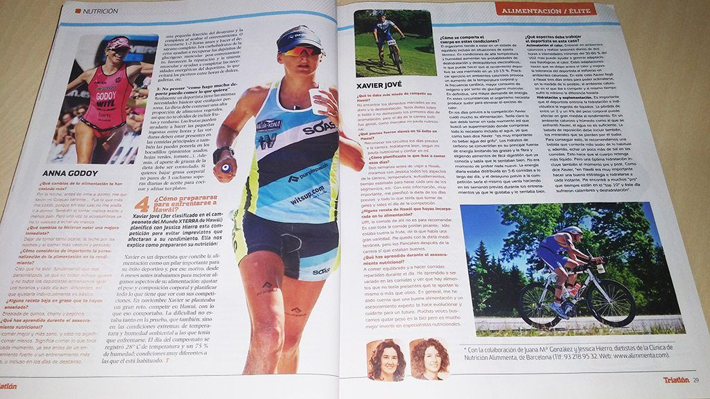 revista triatlon alimentacion triatletas