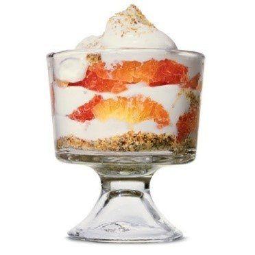desayuno pomelo yogur