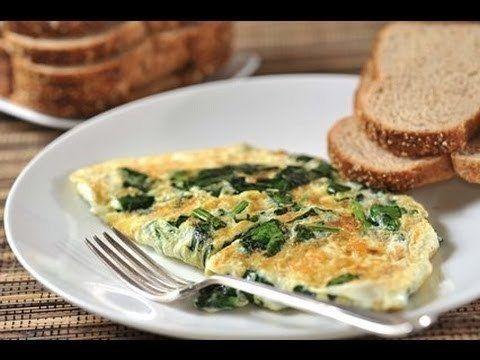 desayuno tortilla espinacas adelgazar