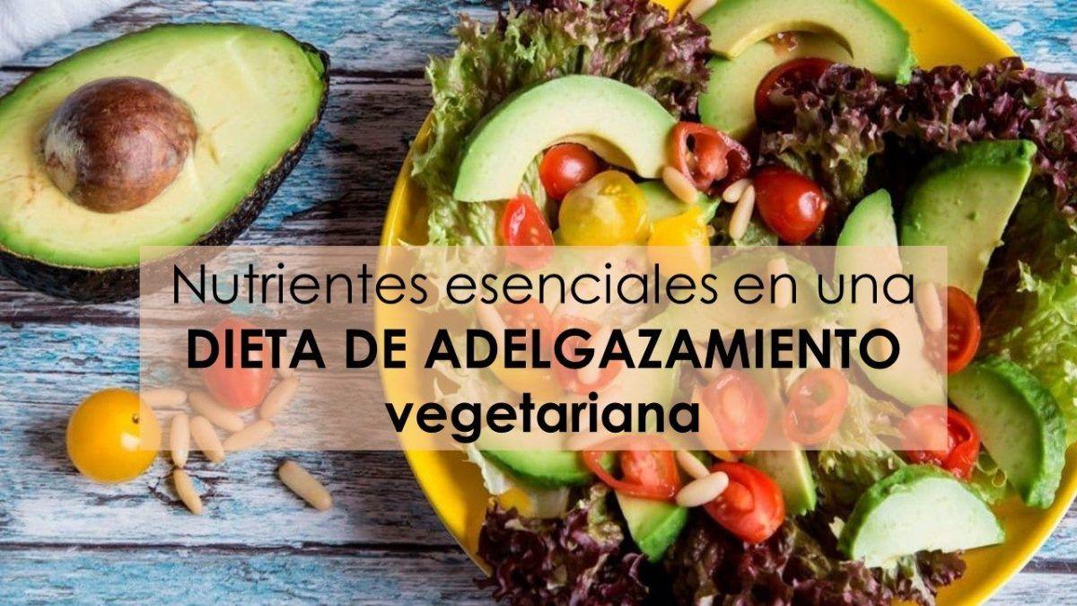 dieta adelgazamiento vegetariana nutrientes