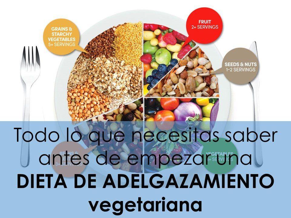 Dieta Vegetariana Para Adelgazar Y Perder Peso Alimmenta