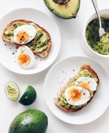 tostadas desayuno dieta