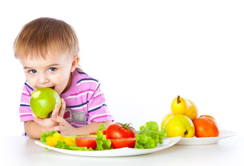 dieta niño 3 años